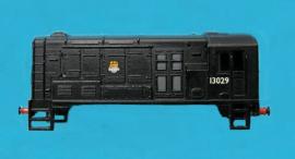 371-008 - Class 08 B.R. black early crest running No 13029