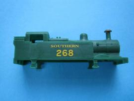 371-025 - GP tank Southern green plastic body running No 268