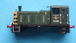 371-061 CLass 03 Deisel BR green Body shell