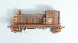 371-064 BR Blue Class 03  No. 03170 Weathered
