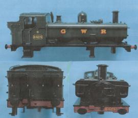 371-985A Class 64xx GWR green No6424
