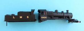 372-627 2MT Ivatt LMS black tender loco No 6404