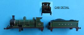 """372-775 - """"C"""" Class Loco SECR Plain Green No.271"""