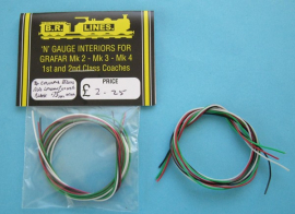 EL001 - Special thin .75 mm wire pack 4 pieces