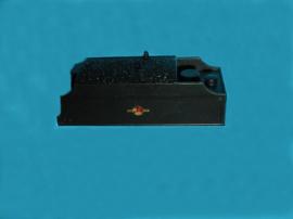 GF0002-G - BR Black e/Crest Fowler Tender lined