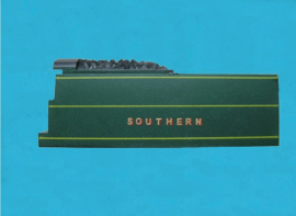 GF0002-L - Southern Region Green Livery Tender Top