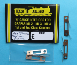 GF0011A Pick up plates For Steam locos after1983