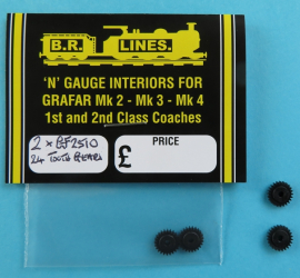 GF2510  24 tooth gear for Class 66 and later Bachmann bogies