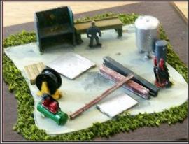 NA29 - Compressor + Bench + Spray Booth etc