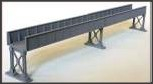 NAP12 - Single Plate Bridge 13″ Length Approx + Metal Supports (Plastic and Metal Kit)