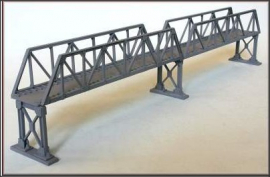 NAP15 - Double Truss Girder 13″ Length Approx + Metal Supports (Plastic and Metal Kit)