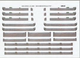 USN 07 - Redbrick front garden walls