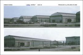 """USN 62 backscene """"Steel Works"""" 54cm total length"""